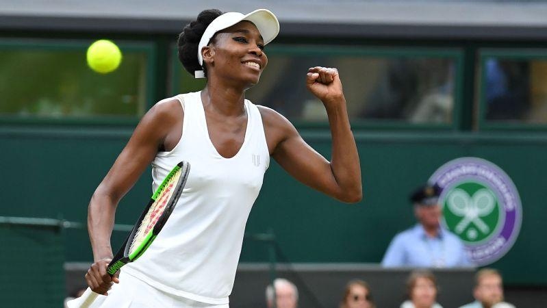 Venus Williams thắng dễ, đối đầu với Muguruza tại Chung kết Wimbledon