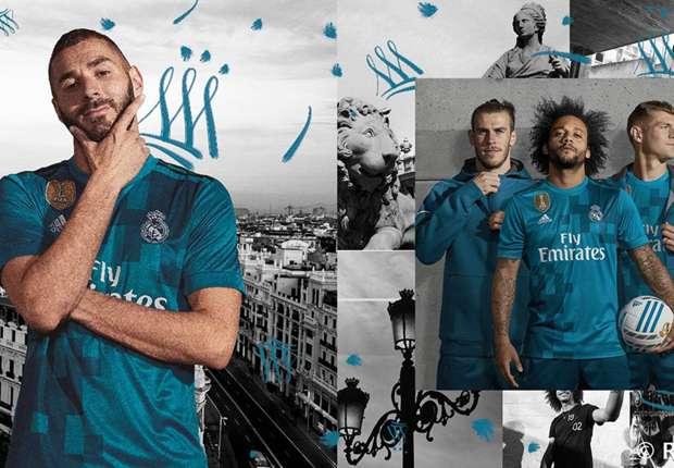 Real Madrid chính thức ra mắt áo đấu thứ 3 cực lạ mắt