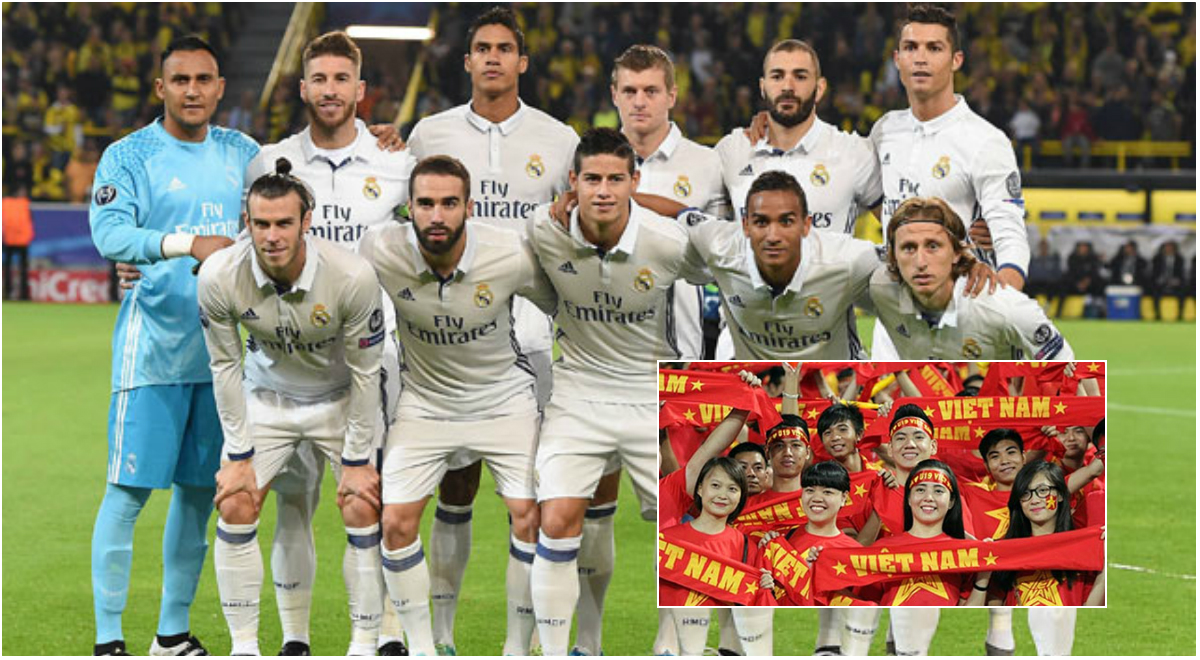 CỰC NÓNG: Đã ấn định thời gian Real Madrid đến Việt Nam thi đấu