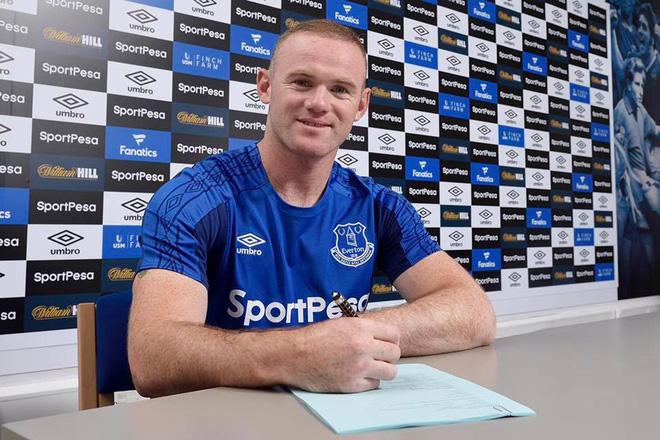 ĐÃ XONG: Wayne Rooney rời Old Trafford, chính thức là người của Everton