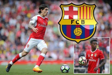Điểm tin chiều 13/7: Bỏ Bellerin, Barca nhắm hậu vệ Benfica; Arsenal gặp đối thủ vụ Mahrez