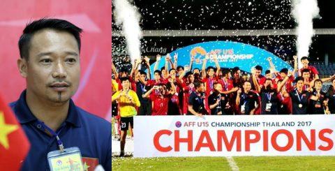 HLV U15 Việt Nam nói gì về chức vô địch ngay trên đất Thái của đội nhà?