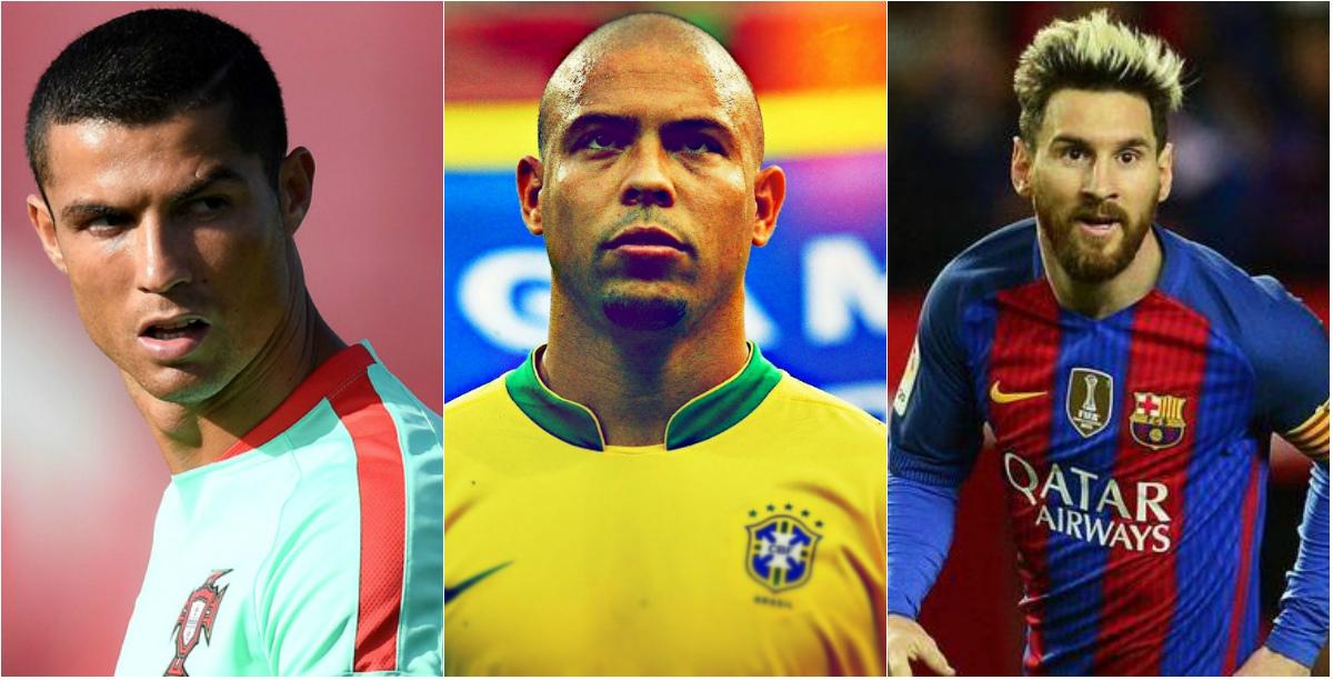 10 cầu thủ vĩ đại nhất lịch sử: CR7 xếp trên Rô béo, Messi xếp thứ 2