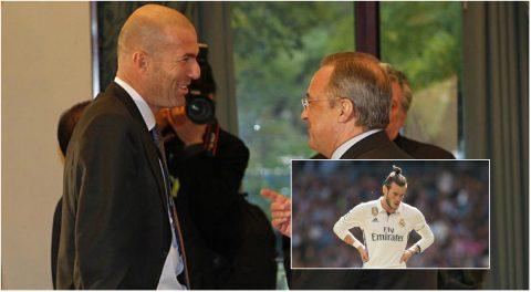 NÓNG: HLV Zidane giục chủ tịch Real bán Gareth Bale