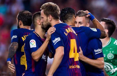 VIDEO: Barcelona 5-0 Chapecoense (Giao hữu 2017)