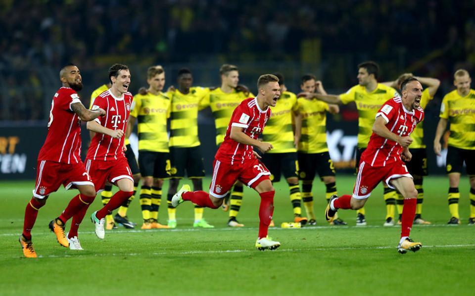 VIDEO: Dortmund 2-2 Bayern (Pen: 4-5, Siêu cúp Đức 2017/18)