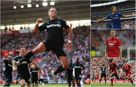 """Đội hình tiêu biểu vòng 2 Premier League: Sự trở lại của """"Hạt đậu thần"""""""