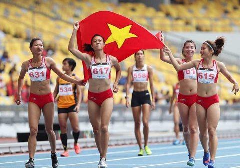 Lật đổ Thái Lan, Việt Nam vươn lên dẫn đầu môn Olympic tại SEA Games