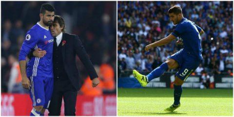 """Chứng kiến """"thảm họa"""" Morata, CĐV Chelsea cầu xin Conte làm lành với Diego Costa"""
