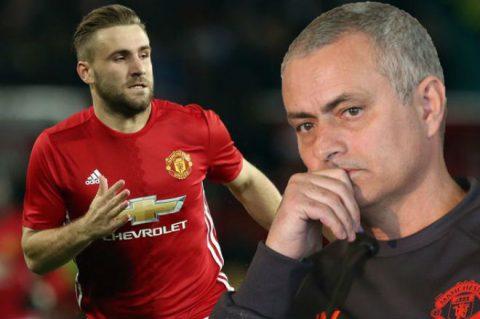 Điểm tin chiều 11/8: Mourinho tính đổi Shaw lấy sao Tottenham