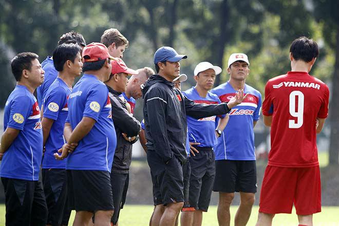 Thầy trò HLV Hữu Thắng bất ngờ nhận lệnh đặc biệt trước trận gặp Philippines