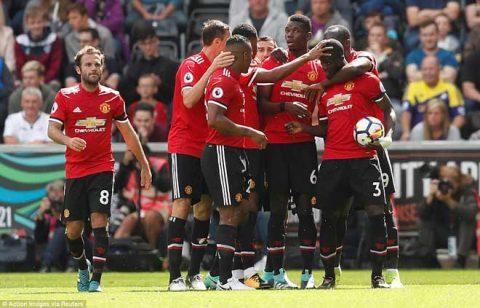 ĐHTB vòng 2 Premier League: Quỷ đỏ thống trị