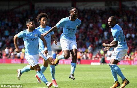 VIDEO: Bournemouth 1-2 Man City (Vòng 3 Ngoại hạng Anh 2017/18)