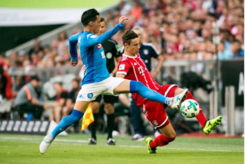 Sử dụng đội hình trẻ, Bayern nối dài chuỗi kết quả bết bát sau thất bại trước Napoli
