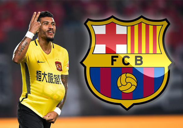 HLV Guangzhou Evergrande CHÍNH THỨC xác nhận Paulinho gia nhập Barca