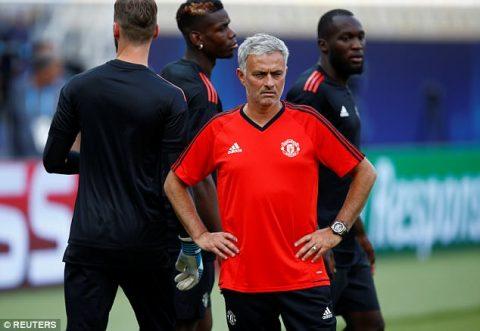 Trước thềm Siêu cúp châu Âu, Mourinho phải cảm ơn…bố Lukaku