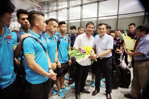 U22 Việt Nam nhận được sự quan tâm đặc biệt trước chuyến tập huấn Hàn Quốc