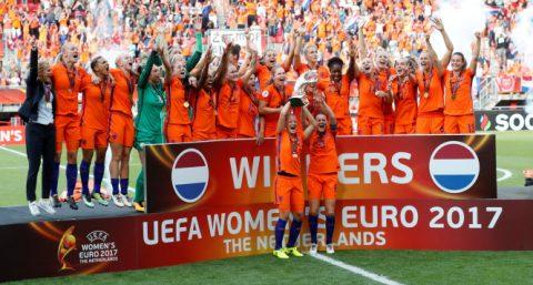Đè bẹp Đan Mạch, ĐT nữ Hà Lan lần đầu vô địch Euro
