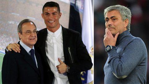 Chủ tịch Perez gây sốc khi định giá siêu sao Ronaldo chỉ… 2,5 triệu bảng