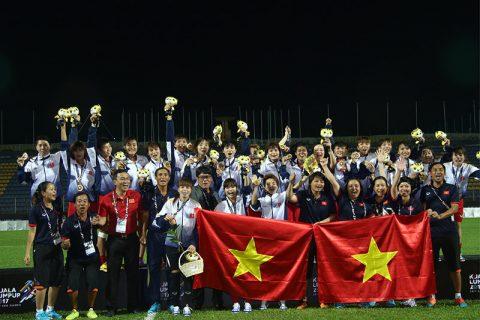 Vô địch SEA Games 29, ĐT nữ Việt Nam nhận tiền thưởng kỷ lục