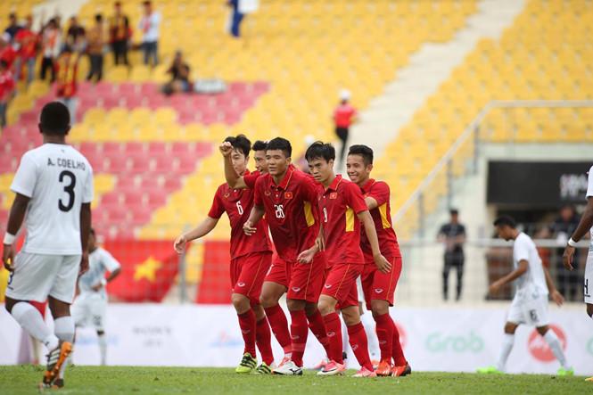 VIDEO: U22 Việt Nam 4-0 U22 Timor Leste (Bảng B SEA Games 29)