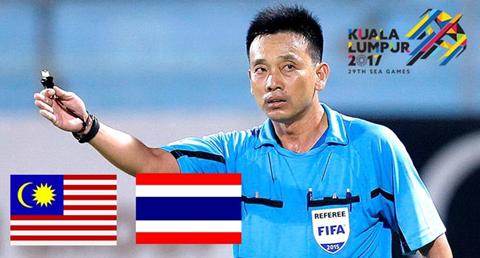 CHÍNH THỨC: Trọng tài Võ Minh Trí cầm còi trong trận chung kết bóng đá nam SEA Games 29