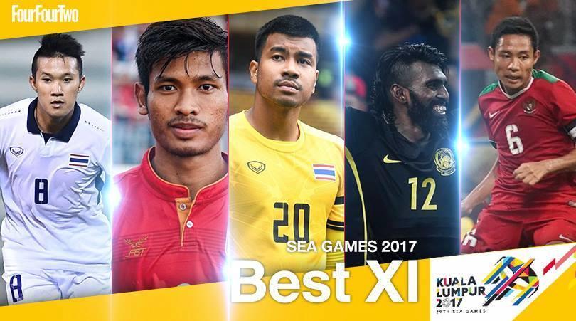 ĐHTB bóng đá nam SEA Games 29: U22 Việt Nam không có tên