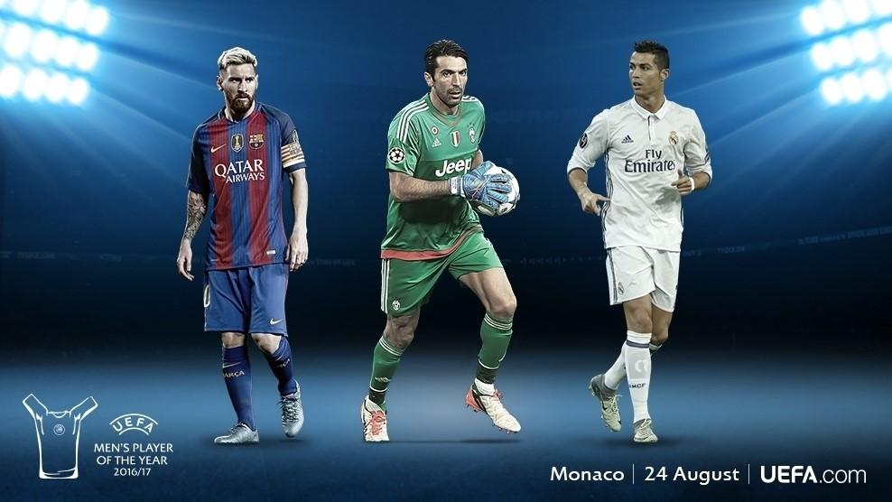Xác định 3 cái tên cuối cùng tranh giải Cầu thủ hay nhất năm của UEFA