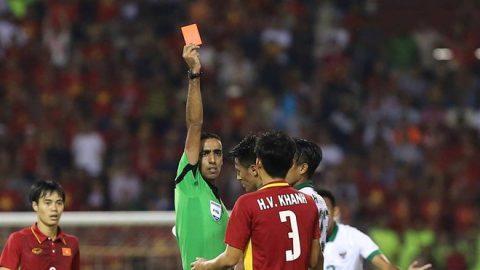 """Fan quốc tế tiếp tục """"ném đá"""" dữ dội trọng tài bắt chính trận U22 Việt Nam và Indonesia"""