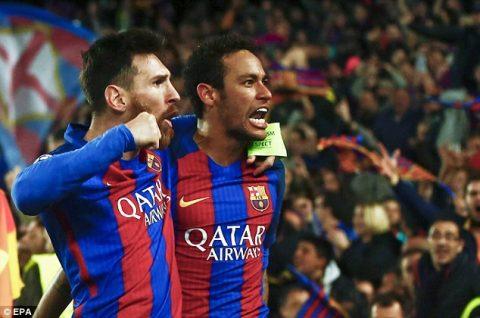 """Tự ái với Barcelona, Neymar đã muốn ra đi ngay sau """"màn ngược dòng lịch sử"""" trước PSG"""