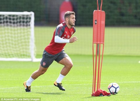 Jack Wilshere quyết bám trụ lại Arsenal đến cùng