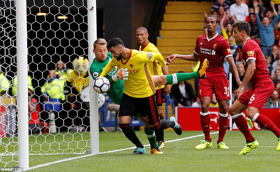 VIDEO: Watford 3-3 Liverpool (Vòng 1 Ngoại hạng Anh 2017/18)
