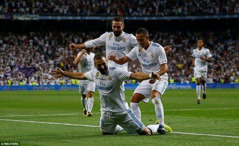VIDEO: Real Madrid 2-0 Barcelona (Lượt về Siêu Cup TBN 2017)