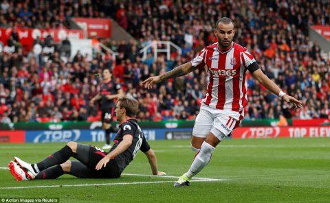 VIDEO: Stoke City 1-0 Arsenal (Vòng 2 Ngoại hạng Anh 2017/18)