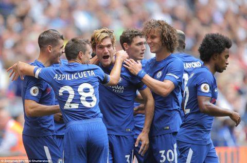 VIDEO: Tottenham 1-2 Chelsea (Vòng 2 Ngoại hạng Anh 2017/18)
