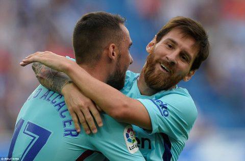 VIDEO: Alaves 0-2 Barcelona (Vòng 2 La Liga 2017/18)