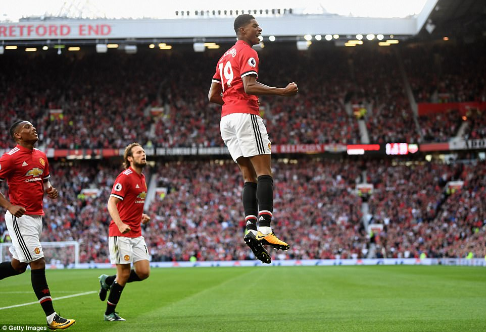 VIDEO: Man United 2-0 Leicester City (Vòng 3 Ngoại hạng Anh 2017/18)