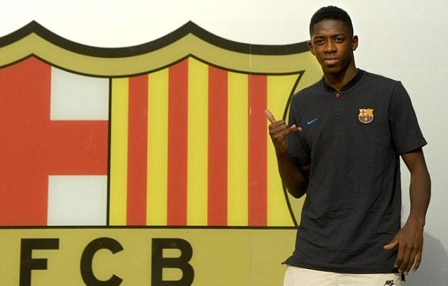 Dembele đã có mặt tại Camp Nou, chuẩn bị ra mắt Barca