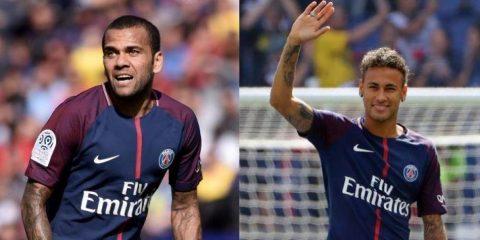 """Dani Alves tiết lộ: """"Chính Neymar thuyết phục tôi sang PSG"""""""