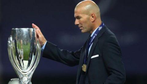 Zinedine Zidane chính thức lọt top 4 HLV xuất sắc nhất lịch sử Real