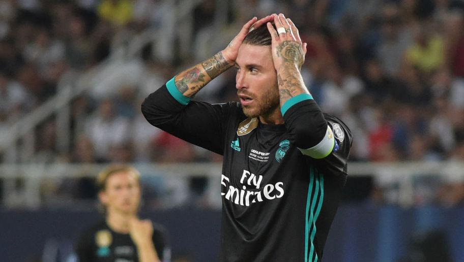 Ramos ghi danh vào lịch sử La Liga về số thẻ đỏ