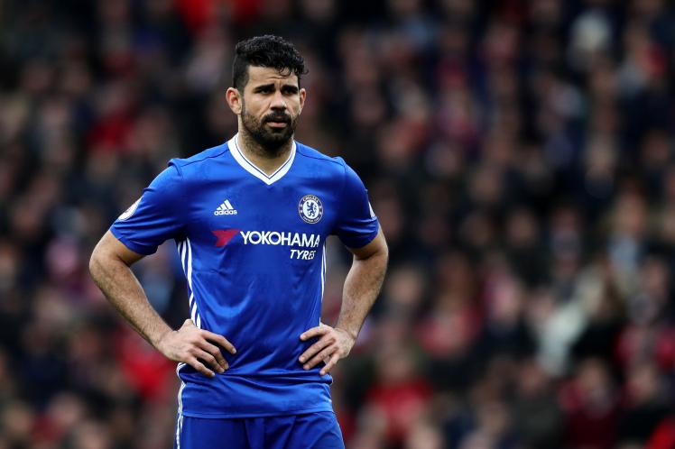 Chưa kịp ra tòa, Diego Costa đã phải nhận án phạt từ Chelsea