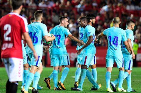 Siêu dự bị Alcacer lập siêu phẩm, Barca may mắn thoát thua trước đội bóng hạng 2