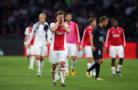 Để Nice cầm hòa tại Amsterdam, Ajax ngậm ngùi rời Champions League