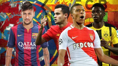 TOP 6 ứng viên đủ sức thay thế Neymar tại Barca