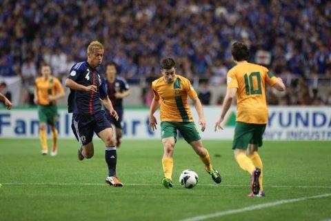 Nhật Bản vs Australia, 17h35 ngày 31/8: Định đoạt số phận