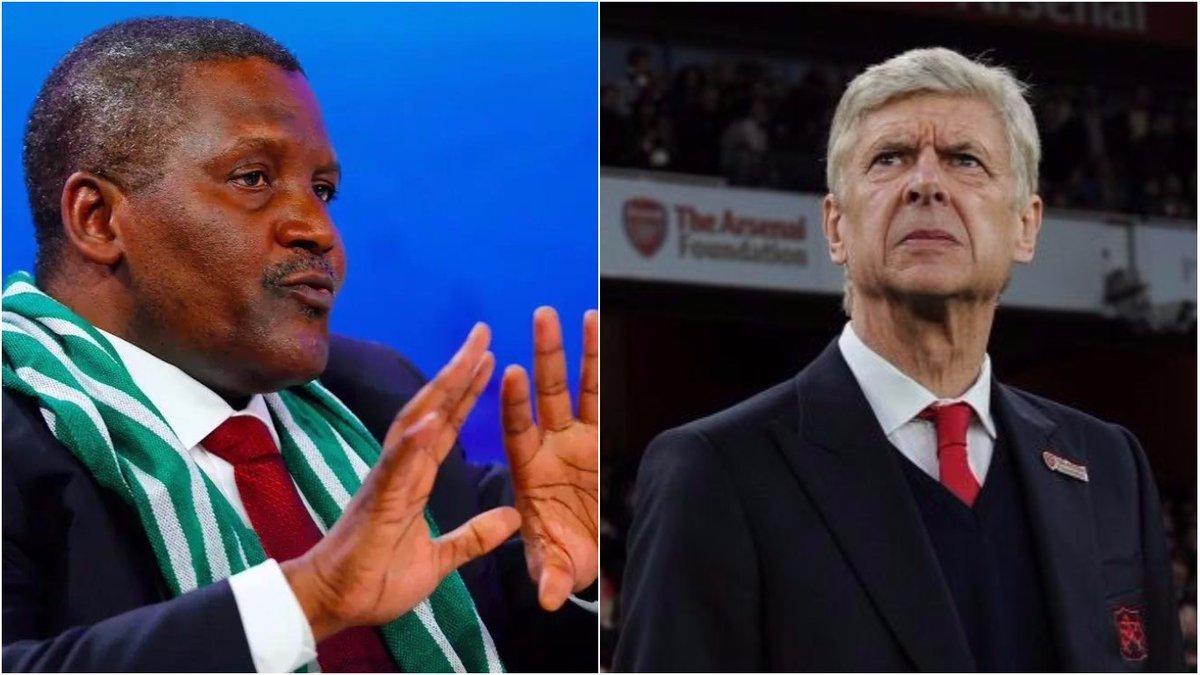 Tỷ phú Châu Phi tuyên bố sẽ sa thải Wenger sau khi thâu tóm Arsenal