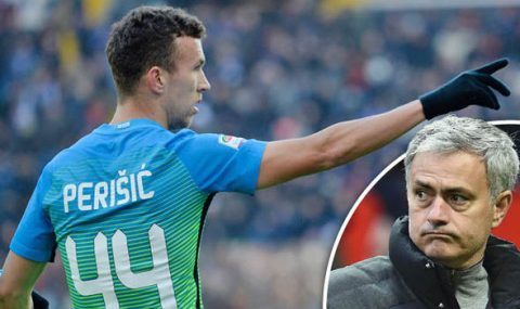 Mourinho thừa nhận thất bại thương vụ Perisic