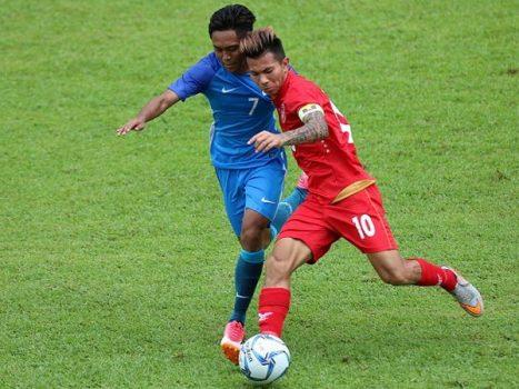 Nghiền nát Brunei, U22 Myanmar giật tấm vé đầu tiên vào bán kết SEA Games 29