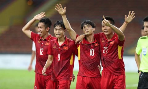 VIDEO: U22 Việt Nam 4-0 U22 Philippines (Bảng B SEA Games 29)